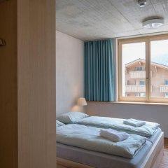 Youth Hostel Gstaad Saanenland Стандартный номер с различными типами кроватей фото 5