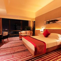 Отель Huaqiang Plaza Hotel Shenzhen Китай, Шэньчжэнь - 1 отзыв об отеле, цены и фото номеров - забронировать отель Huaqiang Plaza Hotel Shenzhen онлайн комната для гостей фото 3