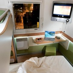 Отель ibis budget Nice Aeroport Promenade des Anglais 2* Стандартный номер с различными типами кроватей фото 12
