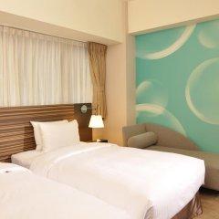 Caesar Park Hotel Taipei 4* Улучшенный номер с различными типами кроватей фото 4