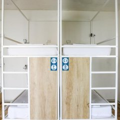 Inhawi Hostel Кровать в общем номере с двухъярусной кроватью фото 19