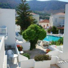 Отель Katerina Apartments Греция, Калимнос - отзывы, цены и фото номеров - забронировать отель Katerina Apartments онлайн балкон
