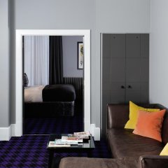 Отель Malmaison Glasgow Глазго комната для гостей фото 10