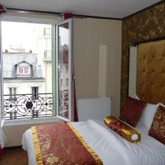 Отель Hôtel des Buttes Chaumont 2* Стандартный номер с различными типами кроватей фото 2