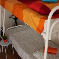 Хостел Online Кровать в общем номере с двухъярусной кроватью фото 32