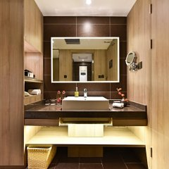 Отель Atour Hotel (Beijing Financial Street) Китай, Пекин - отзывы, цены и фото номеров - забронировать отель Atour Hotel (Beijing Financial Street) онлайн ванная фото 2