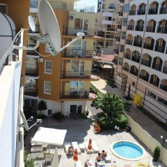 Апартаменты SB Rentals Apartments in Blue Marine Complex Солнечный берег балкон