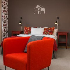 Отель Hotell Fridhemsgatan 3* Стандартный семейный номер с различными типами кроватей фото 14