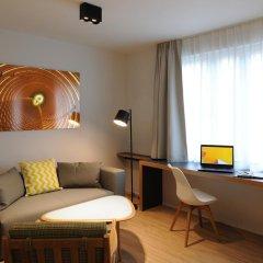 Отель Residence La Source Quartier Louise 3* Студия с различными типами кроватей фото 14