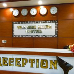 Tuan Chau Marina Hotel интерьер отеля