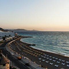 Отель Bellevue Suites Греция, Родос - отзывы, цены и фото номеров - забронировать отель Bellevue Suites онлайн пляж фото 2