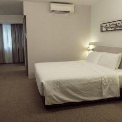 VIP Hotel 2* Улучшенный номер с двуспальной кроватью фото 5