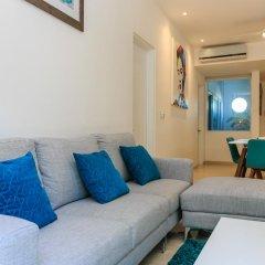 Отель Papaya 15 Apartments Мексика, Плая-дель-Кармен - отзывы, цены и фото номеров - забронировать отель Papaya 15 Apartments онлайн комната для гостей фото 5