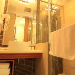 Starway Hotel Jiujiang Xunyang 2* Стандартный номер с различными типами кроватей фото 2