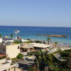 Отель Blue Peter Apartments Кипр, Протарас - отзывы, цены и фото номеров - забронировать отель Blue Peter Apartments онлайн пляж
