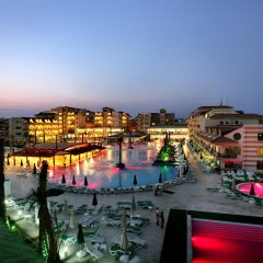 Grand Pearl Beach Resort & SPA Турция, Сиде - отзывы, цены и фото номеров - забронировать отель Grand Pearl Beach Resort & SPA онлайн приотельная территория