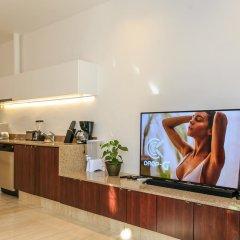 Отель Papaya 15 Apartments Мексика, Плая-дель-Кармен - отзывы, цены и фото номеров - забронировать отель Papaya 15 Apartments онлайн интерьер отеля фото 2