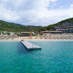 Отель Thassos Grand Resort пляж фото 2