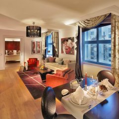 Отель The Grand Mark Prague 5* Улучшенный номер с различными типами кроватей фото 6
