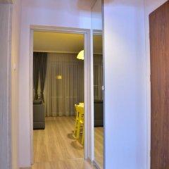 Отель Bajkowy Gdańsk Улучшенные апартаменты с различными типами кроватей фото 33