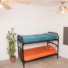 La Hamaca Hostel Кровать в общем номере с двухъярусной кроватью фото 4