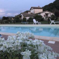 Отель B&B La Torretta Сполето бассейн