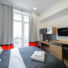Гостиница Partner Guest House Khreschatyk 3* Студия с различными типами кроватей фото 20