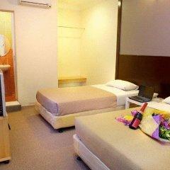 Soho City Hotel Стандартный семейный номер с двуспальной кроватью фото 2