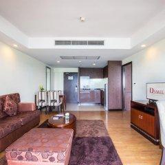 Отель D Varee Jomtien Beach 4* Представительский люкс с различными типами кроватей фото 11