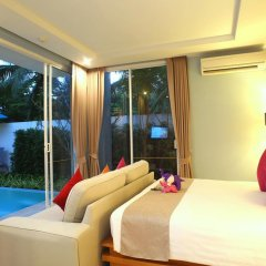 Отель APSARA Beachfront Resort and Villa 4* Улучшенный номер с различными типами кроватей фото 8