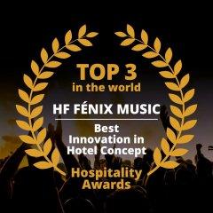 Отель Hf Fenix Music Лиссабон приотельная территория