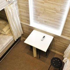 Хостел Казанское Подворье Кровать в мужском общем номере с двухъярусной кроватью фото 10