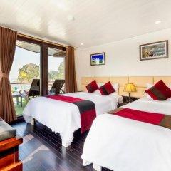 Отель Halong Paloma Cruise 4* Представительский люкс с различными типами кроватей фото 4
