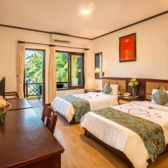 Отель Agribank Hoi An Beach Resort 3* Номер Делюкс с 2 отдельными кроватями фото 11