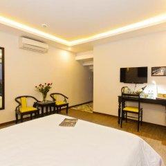 Отель Riverside Impression Homestay Villa 3* Стандартный номер с различными типами кроватей фото 8