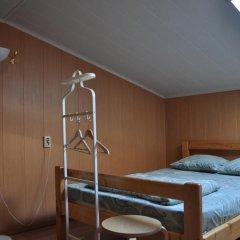 Хостел Арина Родионовна Стандартный семейный номер с двуспальной кроватью (общая ванная комната) фото 4