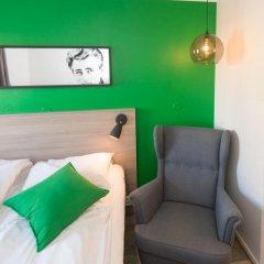 Отель Fjordgaarden Mo 3* Стандартный номер с различными типами кроватей фото 12
