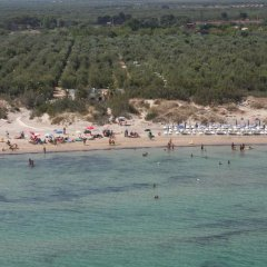 Отель Torre Rinalda Camping Village Лечче пляж