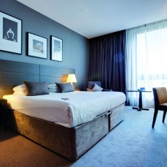 Radisson Blu Hotel, Glasgow 4* Стандартный номер с различными типами кроватей фото 2