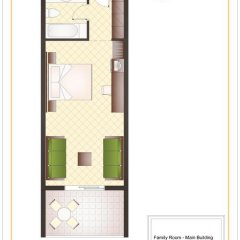 Sunshine Corfu Hotel & Spa All Inclusive 4* Стандартный семейный номер с двуспальной кроватью фото 8