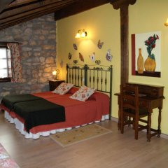 Отель Posada La Llosa de Viveda Стандартный номер с различными типами кроватей фото 11