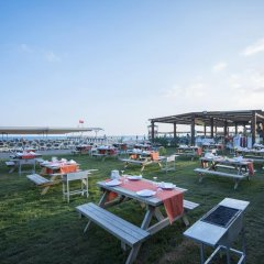 Port Nature Luxury Resort Hotel & Spa Богазкент пляж