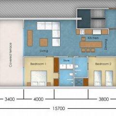 Отель Casuarina Shores Апартаменты с 2 отдельными кроватями фото 26