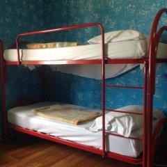 Отель HostelRoma Кровать в общем номере с двухъярусной кроватью фото 7
