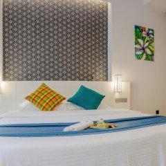 Отель Velana Beach 3* Номер Делюкс с различными типами кроватей фото 2