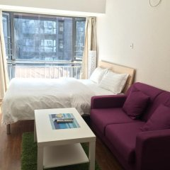 Апартаменты Shenzhen Grace Apartment Апартаменты с различными типами кроватей фото 5