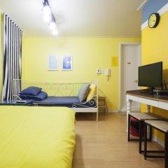 Отель Han River Guesthouse 2* Студия с различными типами кроватей фото 28