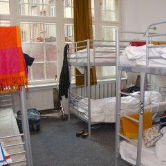 Rixpack Hostel Neukölln Кровать в общем номере с двухъярусной кроватью фото 17