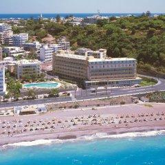 Отель Rhodos Horizon Resort пляж