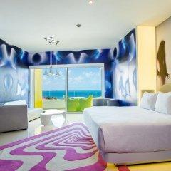 Отель Temptation Cancun Resort - Adults Only 5* Стандартный номер с различными типами кроватей фото 5